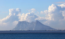 Der Felsen von Gibraltar Lizenzfreies Stockbild