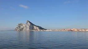 Der Felsen von Gibraltar stock video