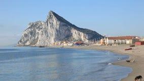 Der Felsen von Gibraltar stock video footage