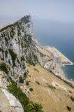 Der Felsen von Gibraltar, Europa stockbild