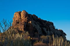 Der Felsen von mauntain Stockfotos