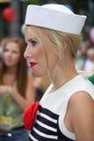 Der Fernsehstern Ksenia Sobchak Lizenzfreie Stockfotos