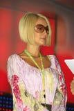 Der Fernsehstern Lera Kudryavtseva Lizenzfreie Stockfotos