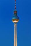 Der Fernsehturm in Berlin Stockbild