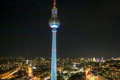 Der Fernsehturm in Berlin, Stockfotografie
