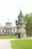 Der Festungskontrollturm in einem Park Stockbild