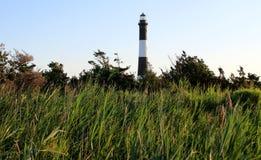 Der Feuer-Insel-Leuchtturm stockfotos
