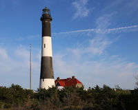 Der Feuer-Insel-Leuchtturm lizenzfreie stockfotos