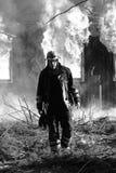 Der Feuerwehrmann lizenzfreie stockfotografie