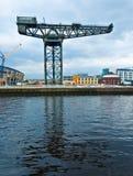 Der Finnieston-Kran - Glasgow stockfotografie