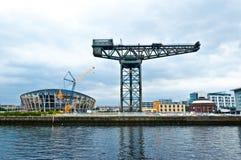 Der Finnieston-Kran - Glasgow lizenzfreies stockfoto