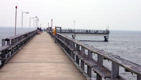 Der Fischen-Pier Stockbild