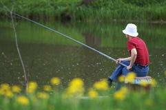 Der Fischer Stockfotografie
