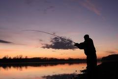 Der Fischer Lizenzfreies Stockfoto