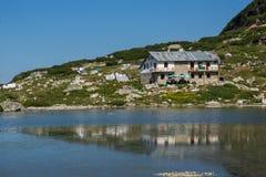 Der Fish See, die sieben Rila Seen, Rila-Berg Lizenzfreies Stockfoto