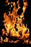 In der Flamme Lizenzfreies Stockbild