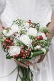 Der Floreal-Blumenstrauß der Braut stockfotos