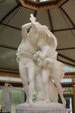 Der Flug von Pompeji-Marmorstatue Lizenzfreies Stockbild