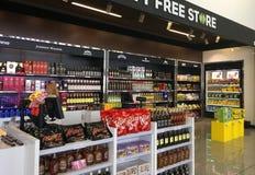 Der Flughafen Duty-free-Shops Lizenzfreies Stockbild