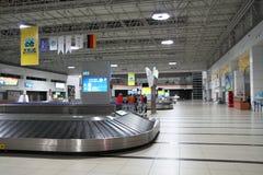 Der Flughafen von Antalya. Die Türkei. stockbilder
