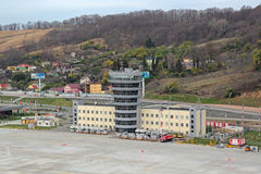 Der Flughafen von Sochi Lizenzfreie Stockfotografie