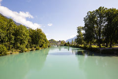Der Fluss Aare Lizenzfreies Stockfoto