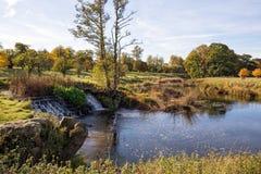 Der Fluss Avon, Warwickshire, England Lizenzfreie Stockbilder