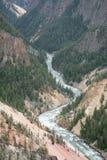 Der Fluss, der schneidet Stockbild