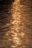 Der Fluss des Goldes Lizenzfreies Stockbild