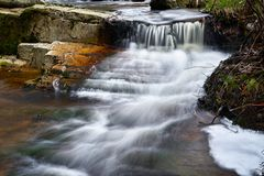Der Fluss Ilse im Nationalpark Harz Stockfoto