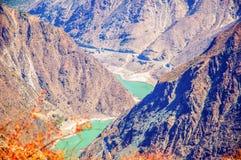 Der Fluss Jinsha Stockbilder