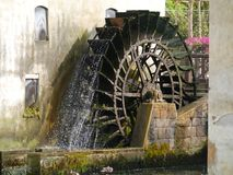 Der Fluss Lemene in Portogruaro lizenzfreie stockfotografie
