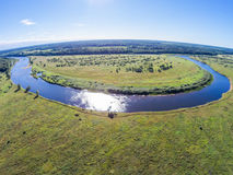 Der Fluss Mologa Lizenzfreie Stockbilder