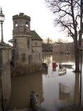 Überschwemmung in York im Dezember Lizenzfreie Stockfotos