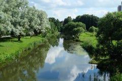 Der Fluss Svisloch Lizenzfreie Stockfotos