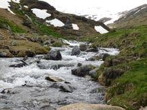 Der Fluss von Rec Del Baladrar Lizenzfreies Stockfoto