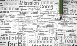 Der Fokus ist nur auf der WortGeschäftsstrategie, im Rot Lizenzfreie Stockfotos