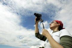 Der Fotograf Lizenzfreies Stockbild