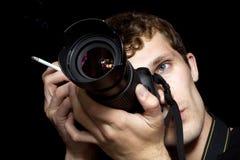 Der Fotograf Stockbilder