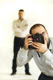 Der Fotograf Lizenzfreie Stockbilder