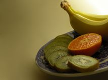 Der Früchte Leben noch Stockfotografie