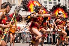 der frankfurt kulturen парад Стоковые Фото