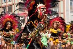 der frankfurt kulturen парад Стоковое Изображение RF