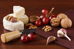 Der französische Käse Stockbilder