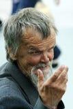 Der freundliche alte Mann. Stockfoto