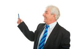 Der freundliche Geschäftsmann Stockbilder