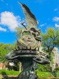Der Friedensbrunnen in der Kathedrale von Johannes das göttliche, NYC Lizenzfreies Stockbild