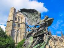 Der Friedensbrunnen in der Kathedrale von Johannes das göttliche, NYC Lizenzfreie Stockfotografie