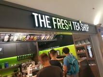 Der frische Tee-Shop Lizenzfreie Stockbilder
