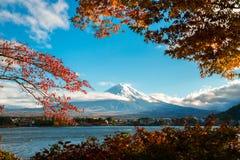 Der Fujisan in Autumn Color, Japan Stockfotografie